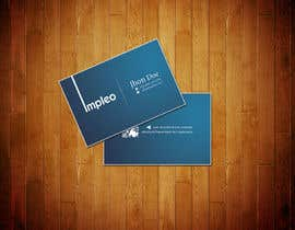 #128 para Business Card Design for Impleo por StrujacAlexandru