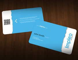 #126 untuk Business Card Design for Impleo oleh Zveki