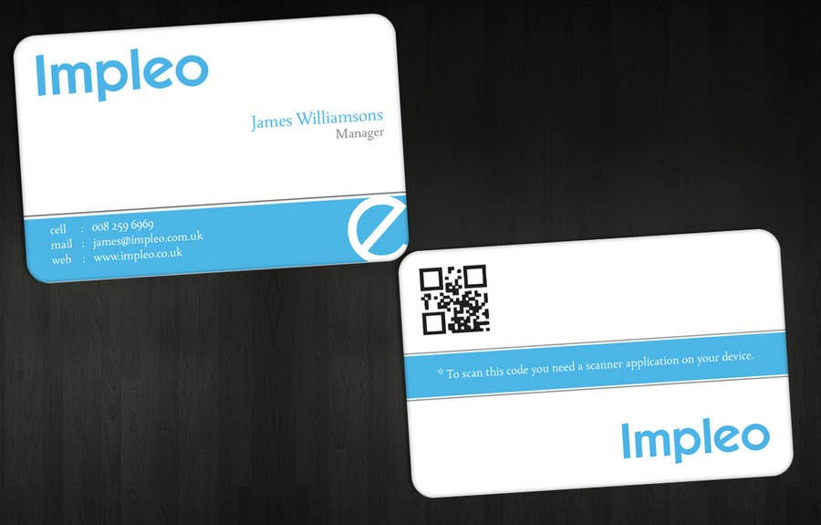 Contest Entry #                                        56                                      for                                         Business Card Design for Impleo