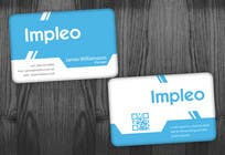 Graphic Design Contest Entry #122 for Business Card Design for Impleo