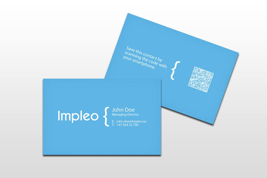 Contest Entry #                                        92                                      for                                         Business Card Design for Impleo