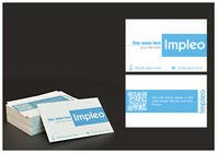 Graphic Design Contest Entry #79 for Business Card Design for Impleo