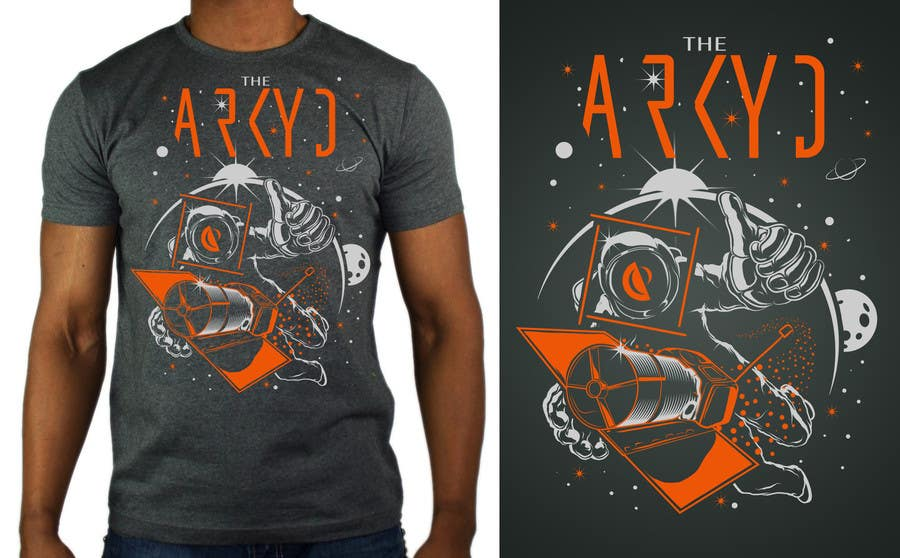 #2283 für Earthlings: ARKYD Space Telescope Needs Your T-Shirt Design! von MajoX21