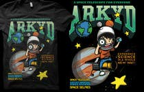 Graphic Design Entri Peraduan #2372 for Earthlings: ARKYD Space Telescope Needs Your T-Shirt Design!