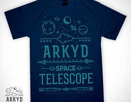 #2530 para Earthlings: ARKYD Space Telescope Needs Your T-Shirt Design! por Sendalbejat