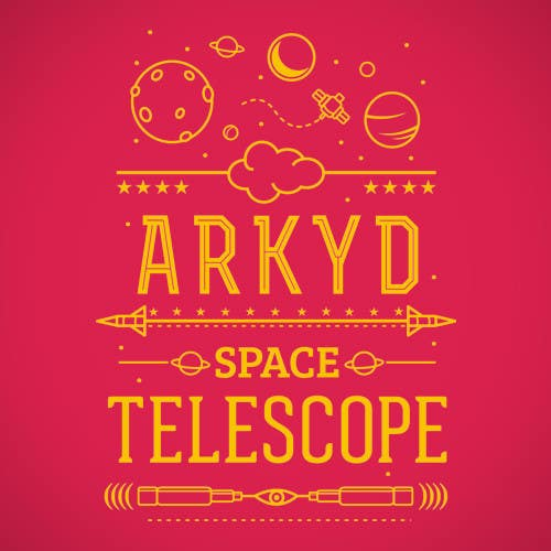 #2561 para Earthlings: ARKYD Space Telescope Needs Your T-Shirt Design! de Sendalbejat