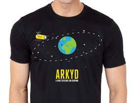 nº 1771 pour Earthlings: ARKYD Space Telescope Needs Your T-Shirt Design! par RamonDNC