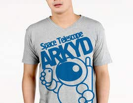 nº 782 pour Earthlings: ARKYD Space Telescope Needs Your T-Shirt Design! par romanshumov