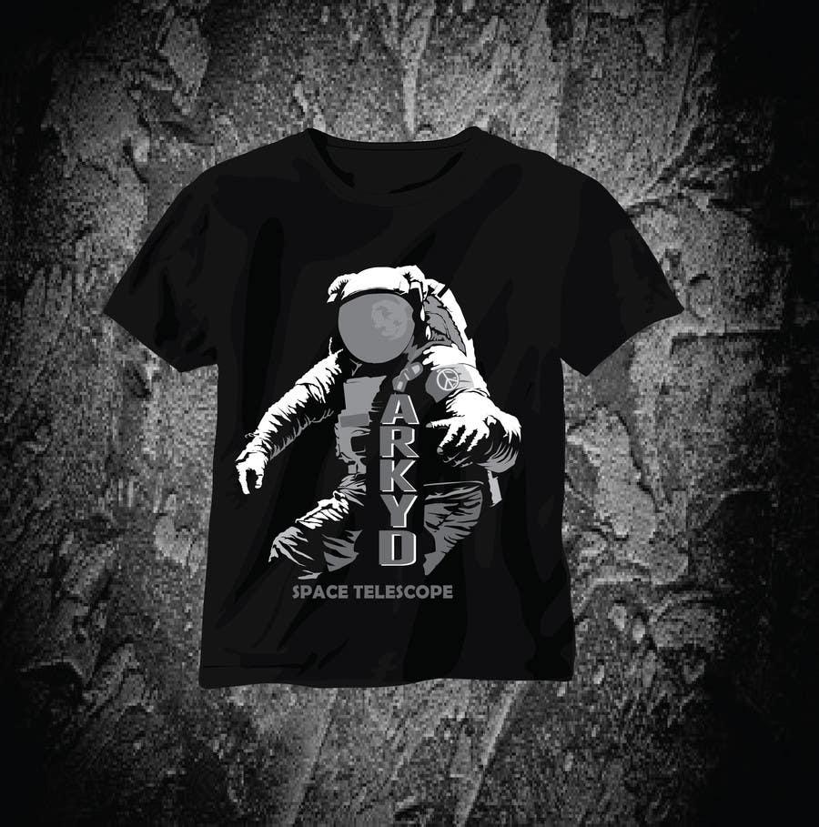 Bài tham dự cuộc thi #435 cho Earthlings: ARKYD Space Telescope Needs Your T-Shirt Design!