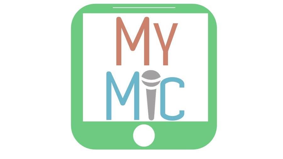 Bài tham dự cuộc thi #30 cho Design a Logo for 'MyMic' Smartphone App