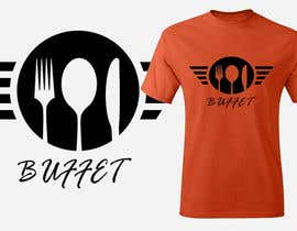 #10 for Design eines T-Shirts for Buffet Restaurant for a crowfunding camp. in germany by lounissess