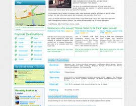 #81 para Website Design for Hoteltrotter por tsbcrop