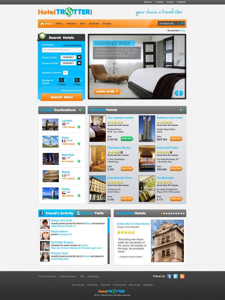 Contest Entry #97 for Website Design for Hoteltrotter