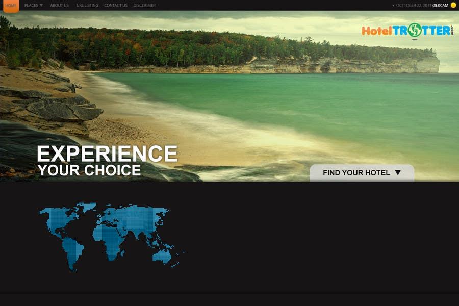 Inscrição nº 38 do Concurso para Website Design for Hoteltrotter