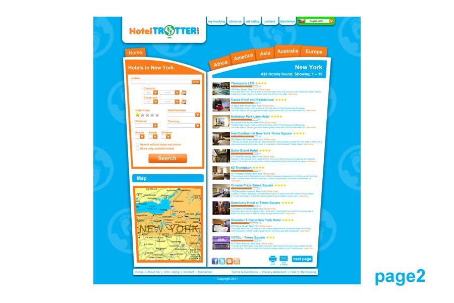 Contest Entry #57 for Website Design for Hoteltrotter