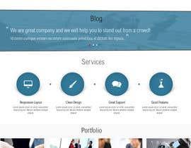 #54 untuk Design a Website Mockup for Graphics website oleh azzaldesigns