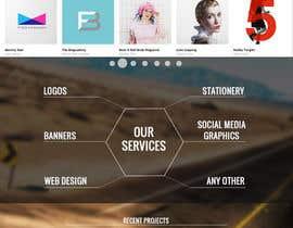 #50 untuk Design a Website Mockup for Graphics website oleh boris03borisov07