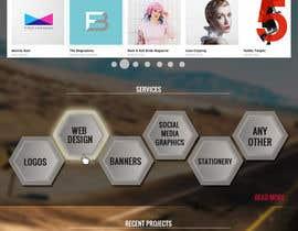 #52 untuk Design a Website Mockup for Graphics website oleh boris03borisov07