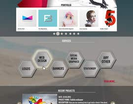 #53 untuk Design a Website Mockup for Graphics website oleh boris03borisov07
