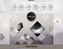 #63 untuk Design a Website Mockup for Graphics website oleh boris03borisov07