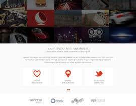 Nro 37 kilpailuun Design a Website Mockup for Graphics website käyttäjältä Pavithranmm