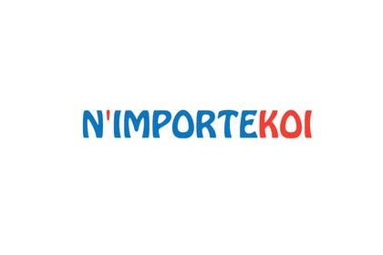 Nro 27 kilpailuun Concevez un logo for N'importeKoi.com käyttäjältä irumaziz12