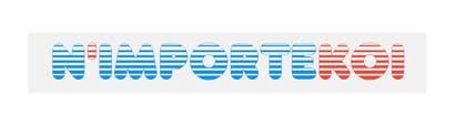 Nro 22 kilpailuun Concevez un logo for N'importeKoi.com käyttäjältä ramiessef