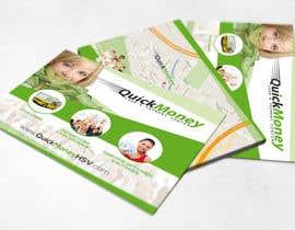 #8 untuk Design a Flyer for QuickMoney oleh thonnymalta