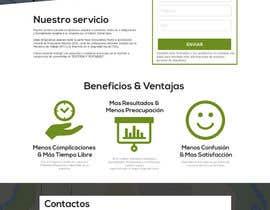 #7 for Hacer un boceto para un diseño web para Impuestofacil af lunaim