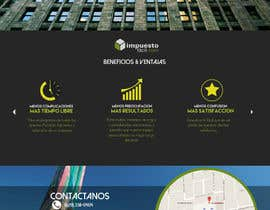 Nro 8 kilpailuun Hacer un boceto para un diseño web para Impuestofacil käyttäjältä jenriquecarreon