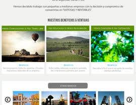 Nro 15 kilpailuun Hacer un boceto para un diseño web para Impuestofacil käyttäjältä benjidomnguez