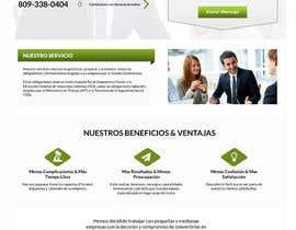 Nro 3 kilpailuun Hacer un boceto para un diseño web para Impuestofacil käyttäjältä AustralDesign