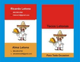 #19 for Design some Business Cards for a taco business af Shrey0017