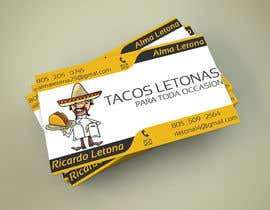 #12 for Design some Business Cards for a taco business af ivorilicivorica