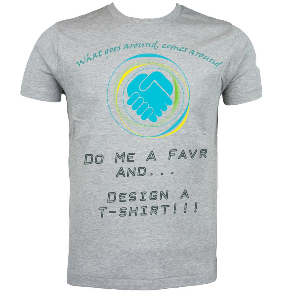 Entry #4 by psh558b2ec55e371 for Design a T-Shirt for an app
