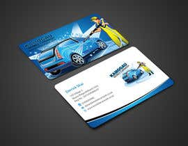 #11 cho Design a letterhead and business card for a car wash. bởi einsanimation
