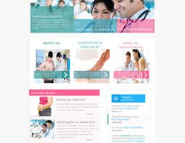 #7 for Design a Website Mockup for a surgeon af chafaiayman