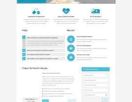 #10 for Design a Website Mockup for a surgeon af timimalik