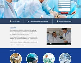 #8 cho Design a Website Mockup for a surgeon bởi webidea12