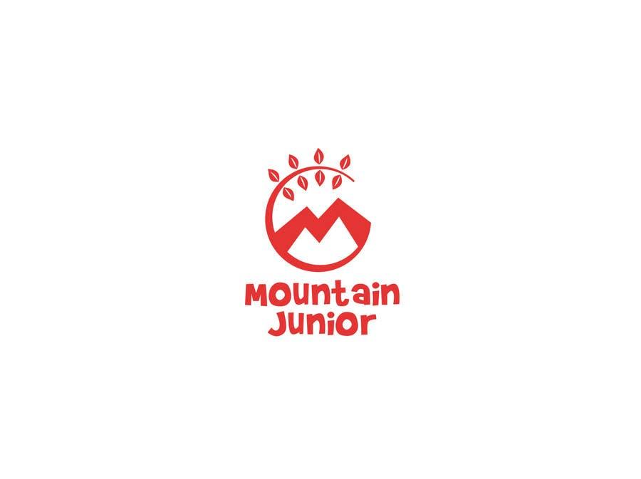 """Penyertaan Peraduan #23 untuk Design a Logo for """"Mountain Junior"""" sports club"""