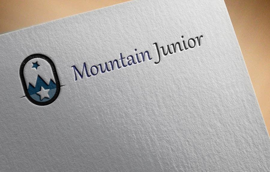"""Penyertaan Peraduan #17 untuk Design a Logo for """"Mountain Junior"""" sports club"""