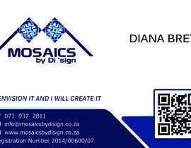 #29 for Design a letterhead and business card for a Mosaic Company af newstartcreative