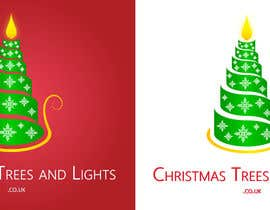 #148 untuk Design a Logo for Christmas Trees and Lights oleh dilpora