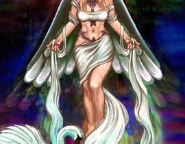 #29 for Fantasy art contest: Cygnisia the Swan-maiden af skrasnoperova