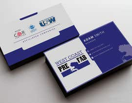 #64 untuk Design a Business Card Template for WCPF oleh Nahidrahman19