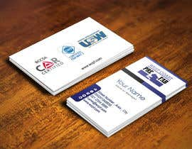 IllusionG tarafından Design a Business Card Template for WCPF için no 24