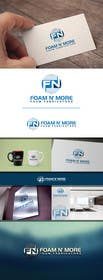 #113 cho Design a Logo for Foam N' More bởi sdartdesign