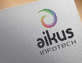 #38 untuk Design a Logo for Aikus Infotech oleh wrvasava