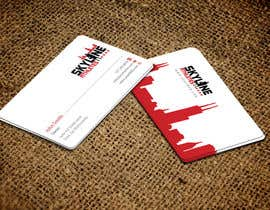 #22 untuk Design some Business Cards and Letter Head for Skyline Athletes LLC oleh einsanimation