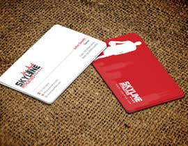 #24 untuk Design some Business Cards and Letter Head for Skyline Athletes LLC oleh einsanimation